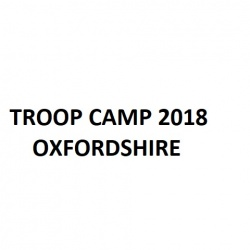 2018 Troop Camp
